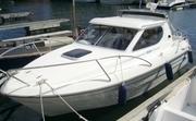 Bella 651 кабинный катер c диз двигателем,  трейлер,  доставка