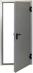 Металлическая противопожарная дверь серии ДП-1