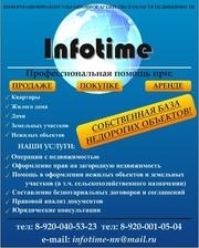 Информационно-консультационные услуги в области недвижимости.