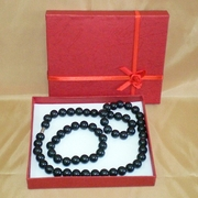 Набор украшений из турмалина (ожерелье и браслет)