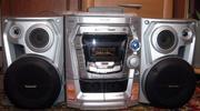 Продам музыкальный центр Panasonic SC-AK300